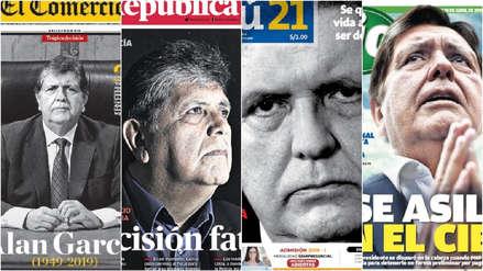 Alan García: Las portadas de los diarios peruanos al día siguiente de su muerte