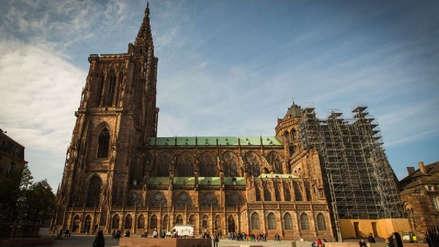 Un dron se estrelló contra la catedral de Estrasburgo en Francia