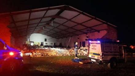 Al menos 13 muertos en el derrumbe de una iglesia pentecostal en Sudáfrica