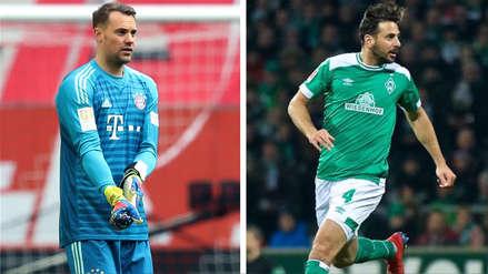 La advertencia que lanzó Manuel Neuer sobre Claudio Pizarro en la previa del Bayern Munich vs. Werder Bremen