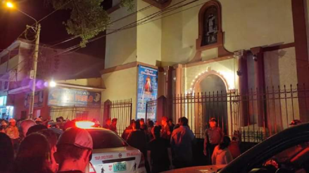 Al menos nueve personas resultaron heridas tras colapso de cielo raso en iglesia Cristo Rey