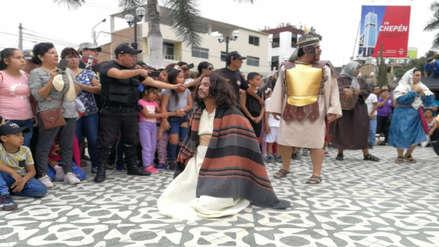 Semana Santa   Los vía crucis más multitudinarios en La Libertad