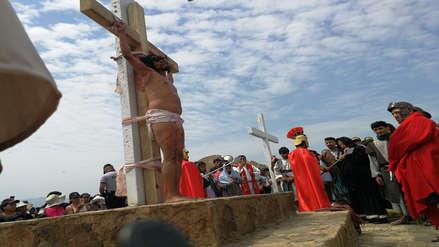 Semana Santa | Revive el vía crucis con la subida más larga del Perú en Chepén
