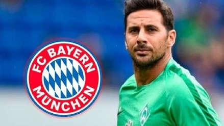Bayern Munich promocionó el partido ante Werder Bremen con imagen de Claudio Pizarro