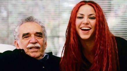 Shakira recordó a Gabriel García Márquez: