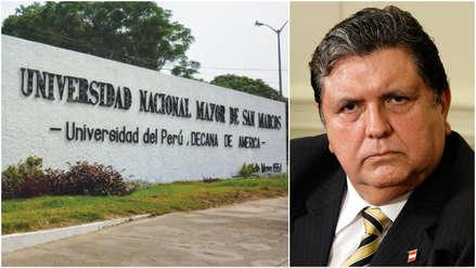 Discrepancias en la UNMSM por comunicado institucional tras la muerte de Alan García