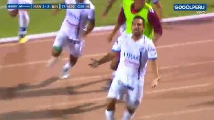 ¡Sobre el final! El gol olímpico de Renzo Sheput que le dio el triunfo a Carlos A. Mannucci ante Binacional