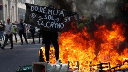 Más de 120 detenidos en nueva jornada de protesta de 'Los Chalecos Amarillo' en Francia