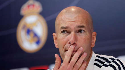 Zinedine Zidane negó estar