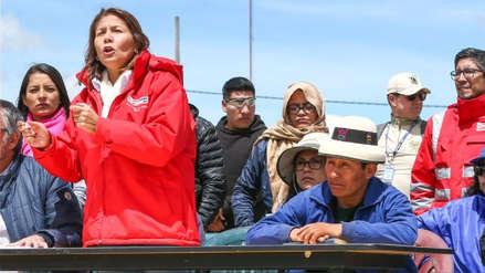 """Paola Bustamante a dirigentes de Fuerabamba: """"Amenazando no es la forma de continuar el diálogo"""""""