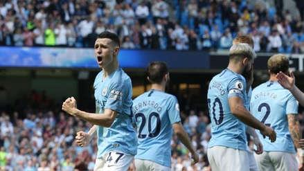 Manchester City ganó 1-0 a Tottenham Hotspur y es líder de la Premier League