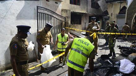 Al menos dos kamikazes participaron en la serie de explosiones en Sri Lanka