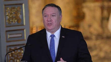 Mike Pompeo: EE.UU. no busca un cambio de régimen en Irán por la vía militar