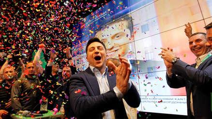 Ucrania eligió como presidente a un actor cómico y sin experiencia política