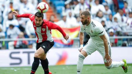 Con triplete de Karim Benzema, Real Madrid goleó 3-0 al Athletic Bilbao por LaLiga