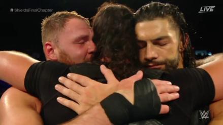 Dean Ambrose se despidió de WWE con un último combate con The Shield [VIDEO]