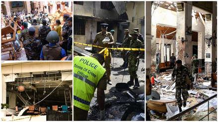 Tragedia en Sri Lanka: Las imágenes que dejaron los atentados contra iglesias y hoteles de lujo