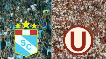 Sporting Cristal vs. Universitario de Deportes se jugará con ambas hinchadas