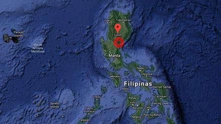 Un fuerte terremoto de magnitud 6.3 sacudió el norte de Filipinas