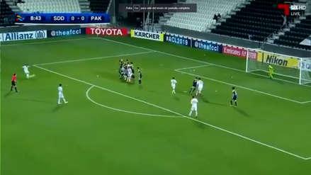 ¡Golazo!: Xavi Hernández marcó desde tiro libre en Champions asiática