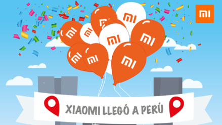 Xiaomi Perú anticipa