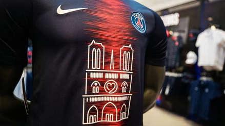 PSG vende mil camisetas conmemorativas de Notre Dame en menos de media hora