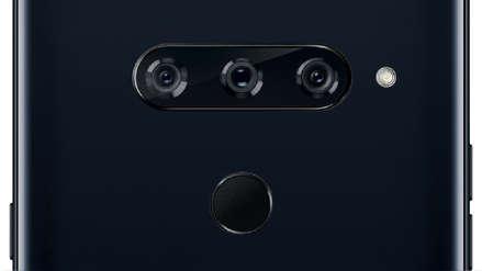 LG patentó un teléfono con tres cámaras frontales