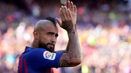¡Tendrá para rato!: Barcelona quiere extender contrato a Arturo Vidal