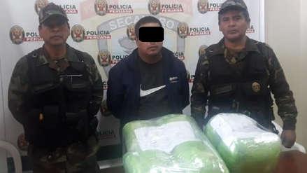 Ica | La Dirandro decomisó 18 kilos de droga en Pisco