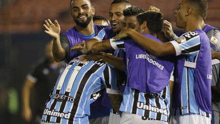Gremio derrotó 2-0 a Libertad y recuperó esperanzas en Libertadores