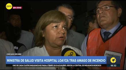 MINSA informó que 43 pacientes fueron evacuados tras incendio en Hospital Loayza