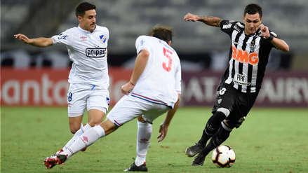 ¡Avanzó! Nacional ganó 1-0 a Atlético Mineiro y pasó a octavos de Libertadores
