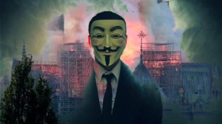 Hackers de Anonymous critican millonarias donaciones a Notre Dame: