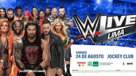 La WWE regresa al Perú con SmackDown el 24 de agosto