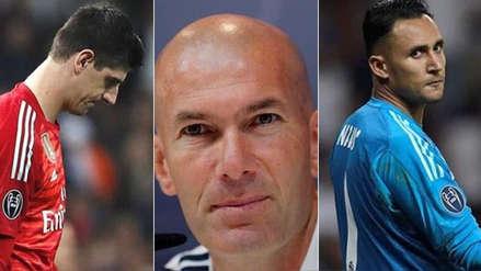 Zinedine Zidane admite que