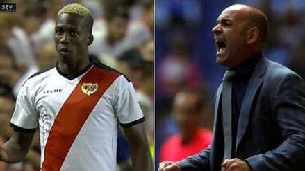 Luis Advíncula sufre por drástica decisión del técnico de Rayo Vallecano