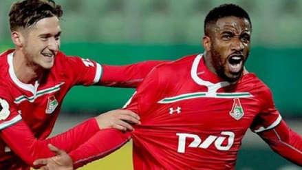 Jefferson Farfán anotó con Lokomotiv de Moscú tras gran definición ante Rostov