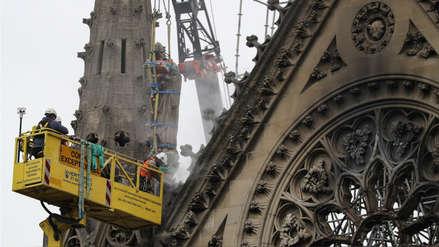 Policía halló colillas de cigarros en andamios donde surgió fuego de incendio de Notre Dame