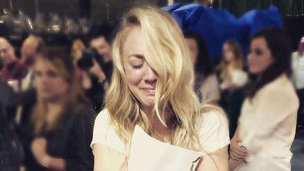 Kaley Cuoco terminó en lágrimas tras leer el guion del final de