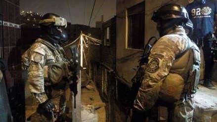 La Policía desbarató al 'Cártel de Cerro San Cosme' tras un megaoperativo en tres distritos de Lima