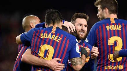 Barcelona será campeón de LaLiga si gana el próximo sábado al Levante