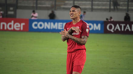 ¡Preocupación! Paolo Guerrero salió lesionado del partido entre Alianza Lima e Internacional por la Copa Libertadores