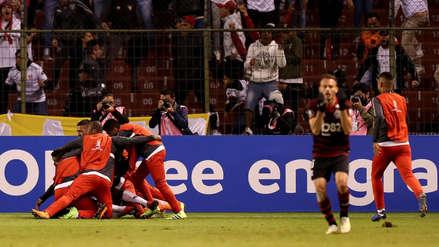 Liga de Quito ganó 2-1 a Flamengo y sigue en la pelea por el pase a octavos de Libertadores