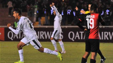 Melgar vs. Palmeiras: Scarpa tomó el balón y marcó este GOL desde fuera del área