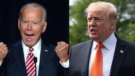 """Donald Trump a candidato Joe Biden: """"Solo espero que tengas inteligencia"""""""