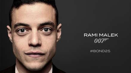 ¡Confirmado! Rami Malek será el villano en la nueva cinta de James Bond