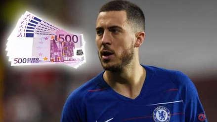 Eden Hazard y el millonario sueldo que podría tener en el Real Madrid
