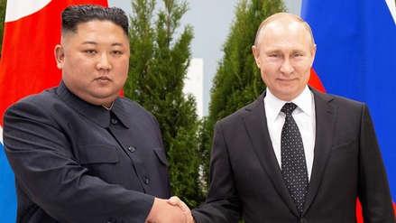 Vladímir Putin y Kim Jong-un se reúnen en Vladivostok