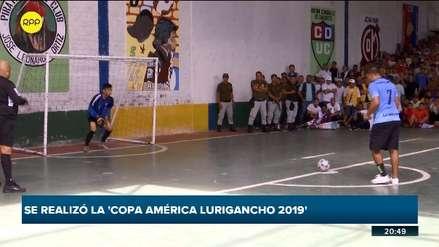 'Copa América 2019' en penal de Lurigancho se definió en tanda de penales [VIDEO]