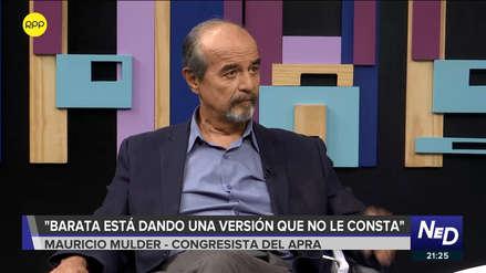 Jorge Barata juró a Alan García que nunca coimeó a Alejandro Toledo, según Mauricio Mulder